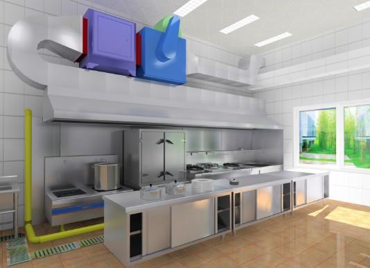 餐厅厨房工程